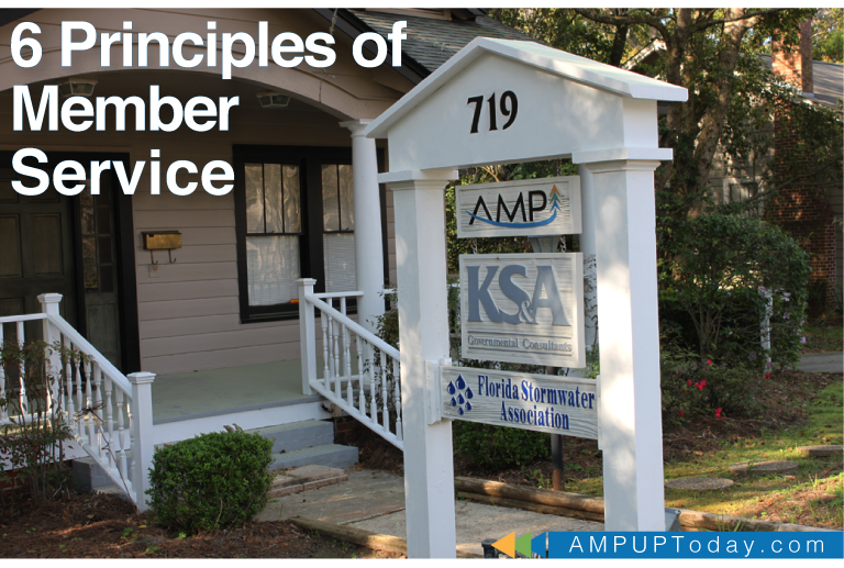 KSA/AMP Building. Blog Headers - 6 Princples to Member Service